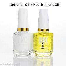 2pcs Nails Cuticle Softener Remover + Nourishment Oil Nail Art Tool
