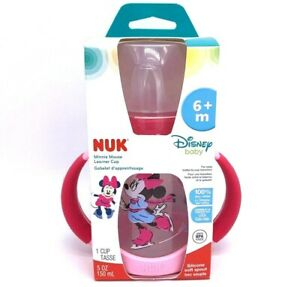 NEW! NUK: Disney Winter Minnie Mouse - 6 mo+ Learner Cup
