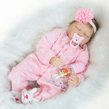 22inch Fashion silicone reborn dolls body bebe reborn baby girl leopard head toy
