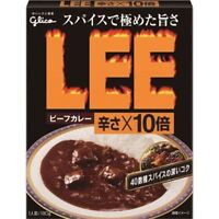"""Glico """"LEE Beef Curry"""" Extra Hot X10, Retort pack, Easy and delicious!"""