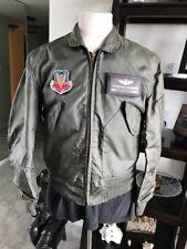 Vietnam MIL-J-83382b CWU-36/p Warm Weather Flyer's Nomex Flight Jacket Medium 💎