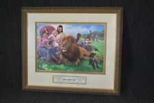 The Lion and the Lamb by Nathan Greene / Limited Edition Print Lithograph / COA