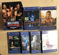 WRESTLEMANIA REVENGE 2004 7 DVD 6 CUSTODIE + COFANETTO