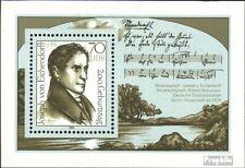 DDR Block92 (kompl.Ausgabe) postfrisch 1988 J. von Eichendorff EUR 1,60