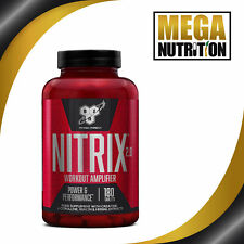 BSN Nitrix 2.0 180 Tablets | Energy Supplement Strong Pump Nitric Oxide boosters