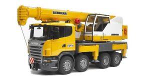Bruder Scania R With Liebherr Crane