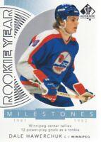 2017-18 SP Authentic Rookie Year Milestones #RYM-DH Dale Hawerchuk Winnipeg Jets