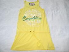 SOCCX Sommer KLEID Long TOP Shirt gelb Gr. S 36 STRAND Tunika wie NEU