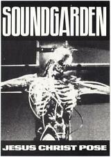 Soundgarden Skeleton Pose Postcard