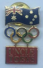 Sydney 2000 Olympic Games Metal Badge Pin - Uncle Tobys