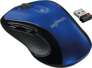 Logitech M510 Full size Laser Wireless Mouse USB Receiver Unifying
