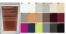 Rollos für Velux® Dachfenster Sicht- und Sonnenschutz Klebeschienen Haltekrallen