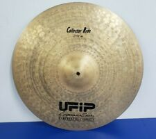 """UFIP EXPERIENCE SERIES EARCREATED 21"""" COLLECTOR RIDE CYMBAL PRE-OWNED"""