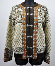 c5f7658d9b DALE OF NORWAY Women s Wool Cardigan Ladies Large L Norwegian Icelandic  Sweater