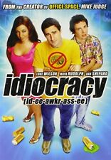 Idiocracy DVD 2011 Luke Wilson Maya Rudolph Mike Judge New