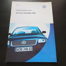 VW SSP Selbststudienprogramm Nr. 251 Der Passat Typ B5 3BG ab Modelljahr 2001