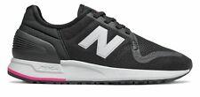 New Balance De Mujer Zapatos 247S Negro con Rosa