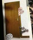 Creepy Life Size Dimensional ZOMBIE ATTACK Halloween Wall Door Prop Decoration