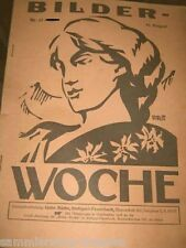17x Bilder Woche Versicherungszeitschrift 1927 Nr. 1 7 8 13 14 17 20 21,....