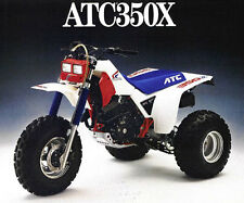 Honda ATC 350X fuel tank wing decal stickers HRC Works Three Wheeler graphics MX