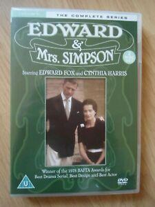 Edward & Mrs Simpson (DVDR2) 2Discs 1978 Edward Fox 350mins+Extras (BARGAIN)