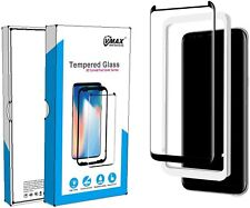 Screen Protector for Galaxy S8 Plus - Tempered Glass 3D Kit
