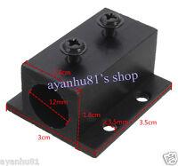 Black Aluminum Radiator Heatsink Heat Sink Holder Mount for 12mm laser modules