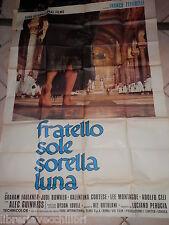 LOCANDINA FRATELLO SOLE SORELLA LUNA Manifesto POSTER film FRANCO ZEFFIRELLI di