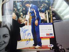 Jim Craig PSA/DNA COA signed Miracle On Ice 1980 USA Hockey 8x10 auto autograph