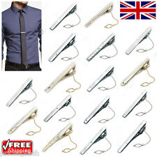 Smart Stylish Men's Boy's Skinny Gold Silver Tie Bar Clips Clasps Pins 30 Styles