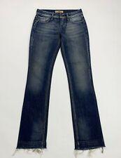 Fornarina jeans donna usato flare zampa bootcut W28 tg 42 denim vintage T5026