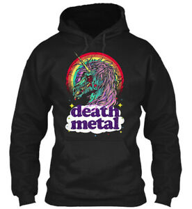 Teespring Lap Zombie Unicorn Death Metal Way Classic Pullover Hoodie