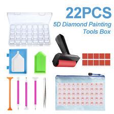 22 Piece 5D Diamond Painting Tools Box Diamond Accessories Diy Art Craft Pen Set
