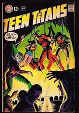 """Teen Titans #19 ~ """"Stepping Stones for a Giant Killer"""" ~ (7.0) 1969 Wh"""