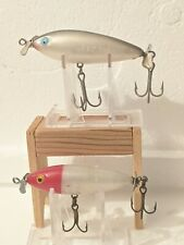 A LOT OF TWO COTTON CORDELL CRAZY SHAD FISHING LURES