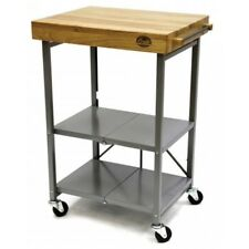 Bradley Smoker BTKITCART Smoker Foldable Kitchen Cart, Transitional