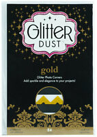 Therm O Web Glitter Dust Gold Photo Corners Acid & Lignin Free 84 Piece