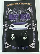 Heavy Metal by Martin Popoff (2000, Paperback) KISS OZZY BOOK 192 PAGES