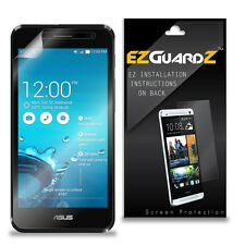 4X EZguardz LCD Screen Protector Skin Cover HD 4X For Asus PadFone X Mini Phone