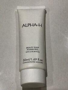 ALPHA-H Beauty Sleep Power Peel 50ml Brand New & Sealed