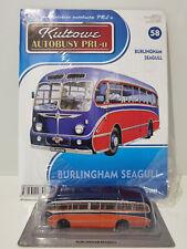 IXO IST BURLINGHAM SEAGULL Kultowe Autobusy PRL-u 1:72 no.58 polish bus scania