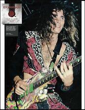 Steve Vai Signature Ibanez Jem Universe Uv77Mc guitar circa 1990 pin-up photo