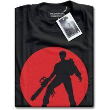 NEW Evil Dead Ash With Chainsaw Mens Black Texas Massacre Premium T-Shirt Top