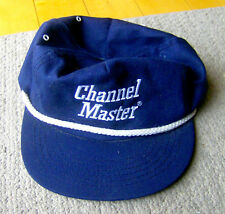 Rare vintage 1970s Channel Master baseball cap Television Antenna hat go-with Tv