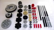 LEGO NEW 60 pcs GEAR AXLE SET Technic Mindstorms ev3 turntable robotics pack lot