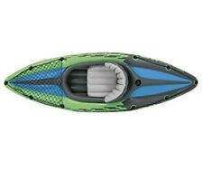 ⭐️ NEW FREE SHIP ⭐️ INTEX CHALLENGER K1 1 PERSON INFLATABLE KAYAK w OARS & PUMP