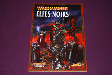 WARHAMMER BATTLE - Livre d'Armée Elfes Noirs 2008 V7-V8