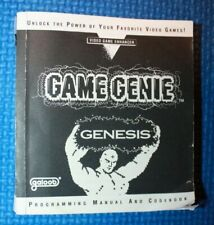 Game Genie Programming Manual and Codebook for the Genesis Edition 3