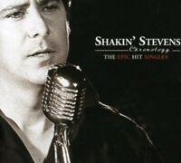 SHAKIN' STEVENS - CHRONOLOGY-THE HIT EPIC SINGLE - BONNIE TYLER - 2 CD NEU