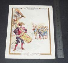 CHROMO 1900-1905 AU BON MARCHE BOUCICAUT VIEUX PARIS POSTE DU GRAND CHATELET